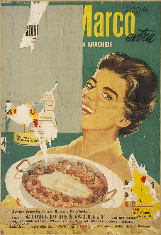 Art & foods Mimmo Rotella