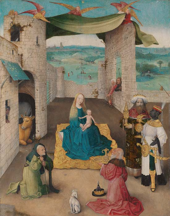 Bosch: Adoration of the magi