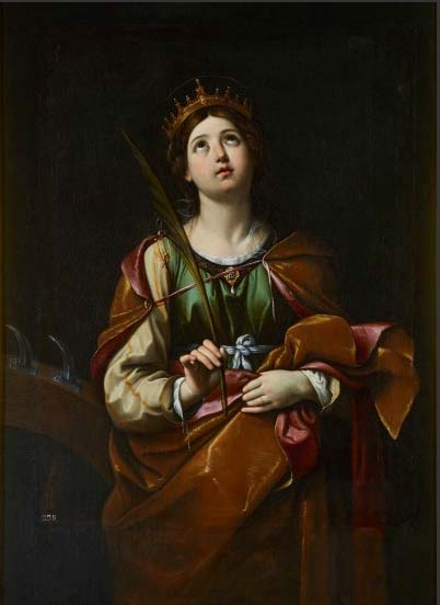 Santa Caterina. Guido Reni