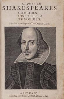 William Shakespeare - First Folio